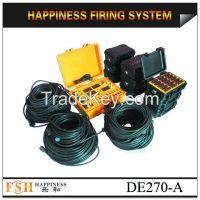 Waterproof case, 270 channels fireworks firing system, sequential fire fireworks firing system, fireworks machine