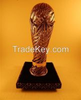 Trophy Football Silver Filigree Model