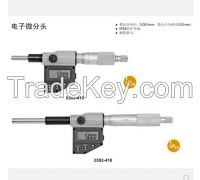 electronic digital micrometer head