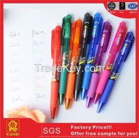 2015 Office&School Gift Click Erasable Gel Ball Pen (X-8808)