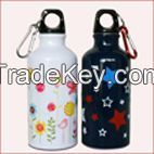 450ml aluminum bottle,aluminum water bottle With SGS,FDA