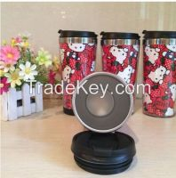 16 oz double wall stainless steel cup,coffee cup