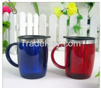 promotional 16 oz double insulated tumblers with handle