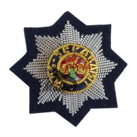 Bullion Embroidered Cap Badge