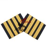 Pilot Epaulets 4 Stripe Bars