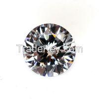 Round shape cubic zircon