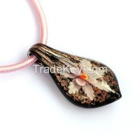 Fashion pendants Liuli Glass stone wholesale Factory