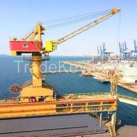 100ton mobile harbour portal crane