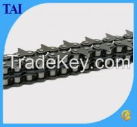 Sharp Top Lumber Conveyor Chain with Attachments