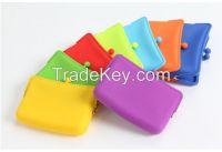 2015 new style fashion silicone pochi purse wallet wholesale