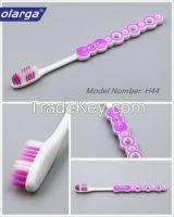 Adult age group free sample Soft nylon bristle toothbrush