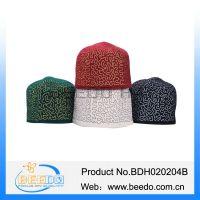 New product 2015 moslem cap namaz hat muslim prayer cap man