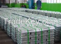 hot sell pure Zinc Ingots 99.995% (0#/1#), Alloy ingot (3#/5#)