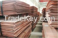 ELECTROLYTIC COPPER CATHODE 99.99% PURITY GRADE A