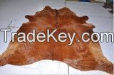 wet salted cow hides and donkey hides.