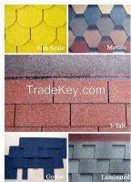 Fiberglass roofing asphalt shingles/roof tiles