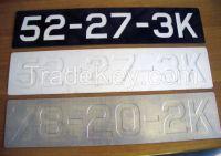 High quality car license plate