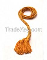 Single Braided Graduation Honor Cord with Tassels Charm