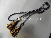 New Style Intertwined Honor Cord with Rayon Tassel