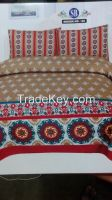 King size printed bed sheet in Lahore free home delivery
