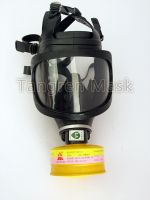 TF6D Large View Full Face Gas Mask