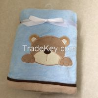 Animal Applique Embroidery Blanket
