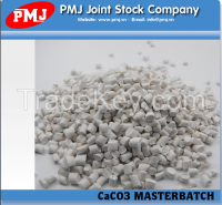 Filler masterbatch (CaCO3 masterbatch) with PP and PE resin