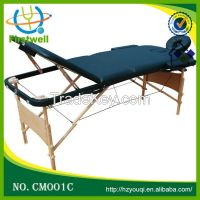 folding portable wooden massage table massage bed