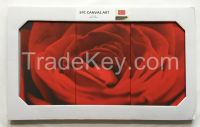 Fabulious 100% handmade China wholesale cheap high quality 3 panel canvas wall art