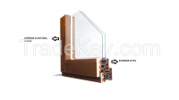 HOLZPLAS PVC WOODEN COMPOSITE WINDOW