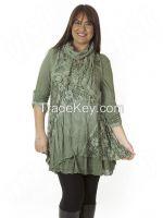 Italian Lagenlook tunic Dress