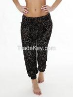 Leopard Print Harem Trousers