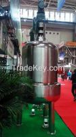 chemical mixing tank  with agitator   stainless steel  tanks  steel  reactors