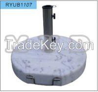 grey granite umbrella base 40kgs