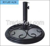 9kgs round cast iron umbrella base