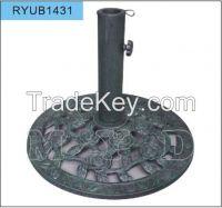 7kgs round cast iron umbrella