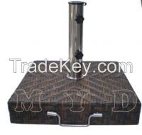 30KGS SQUARE WICKER UMBRELLA BASE
