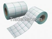 Wholesale Thermal Self-adhesive Labels Paper Rolls Self-adhesive Stickers Factory