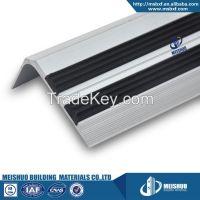 Laminate rubber stair tread anti slip for interior wood floor