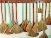 DIFFERENT STYLES AND HIGH QUALITY GRASS BROOM (Whatsapp +84 938880463)
