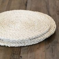 WOVEN ROUND SEAGRASS PLACEMATS (whatsapp: +84 938880463)