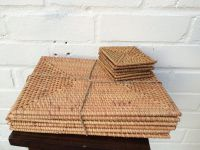 RATTAN PLACEMATS- ROUND AND RECTANGULAR SHAPES (whatsapp: +84 938880463)
