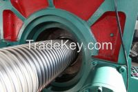 corrugated flexible metal hose making machine