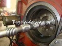 hydraulic flexilbe hose forming machine