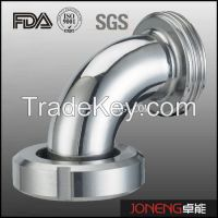 Stainless Steel Sanitary 90d Elbow Pipe Fittings