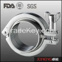 Stainless Steel Single Pin Sanitary Clamp