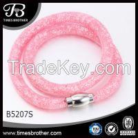 Magnet Clasp New Model Wrap Bracelet with different color