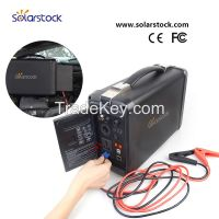2016 Portable Mini 500w Solar Power Generator with lithium Ion Battery