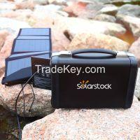 12V 50Ah lithium Ion Storage battery portable solar power system 500W
