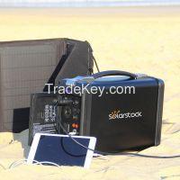 Indoor Outdoor Renewable Portable Emergency Solar Generator Off Grid